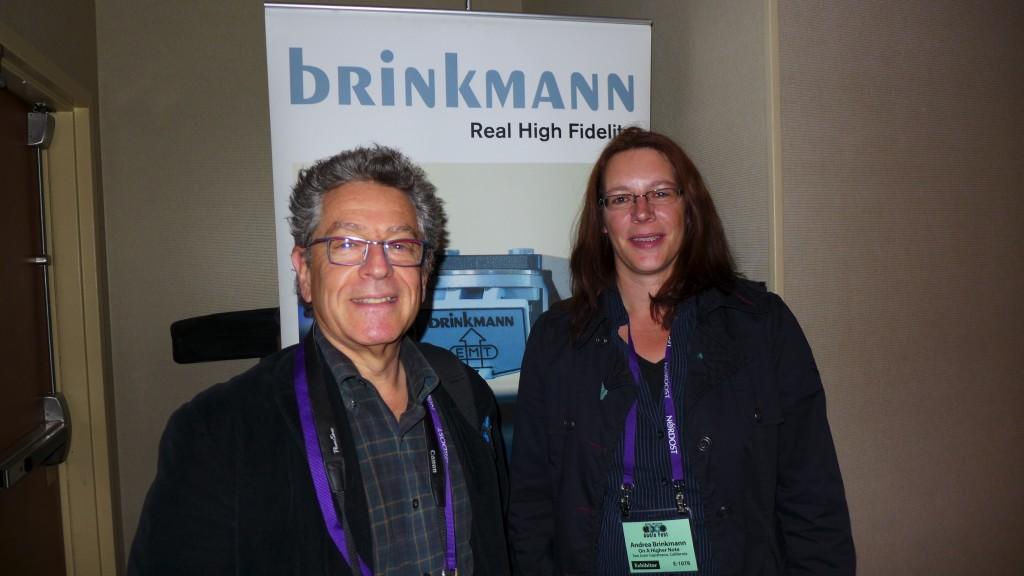 Michael Fremer & Andrea Brinkmann
