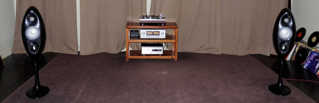 Luxman PD-171, Luxman L-550Ax & Vivid Oval V1.5