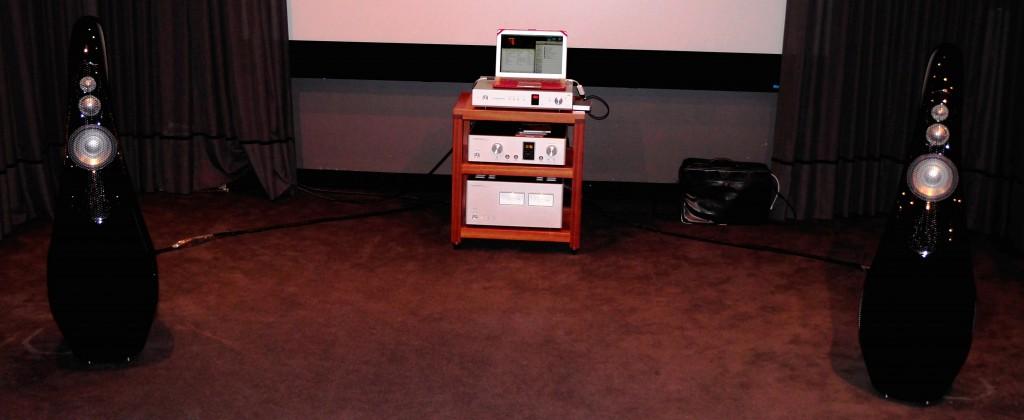 Vivid GIYA G3, Luxman DA-06 DSD DAC, Luxman M-900u & C-900u