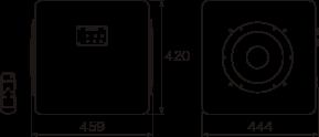 W459 x H420 x D444