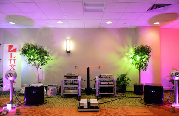 On A Higher Note's RMAF 2014 room featuring Eclipse TD, Luxman and Mola-Mola in collaboration with Synergistic, and SoundSmith, and Audio Oasis Award Winning Room from Positive Feedback