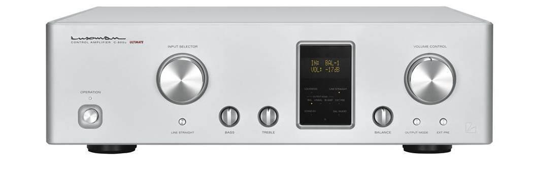 Luxman C-900u stereo amp