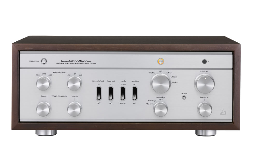 Luxman CL-38u tube preamp