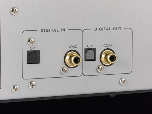 Luxman D-05 digital input and output detail