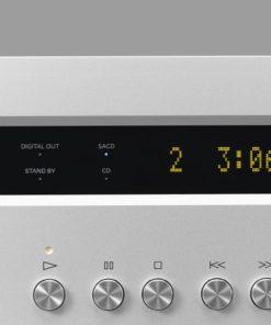 Luxman D-05 music player front detail