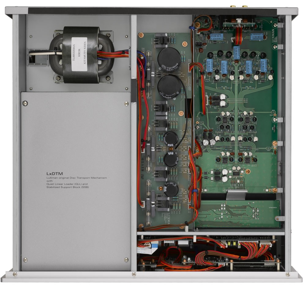 Luxman D-05 internal