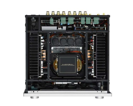Luxman L-550AX inside view