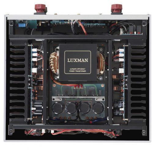 Luxman M-600A inside view