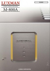 luxman_m-800A_catalog_cover