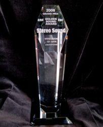 Stereo Sound Golden Sound Award 2008 Vivid G1