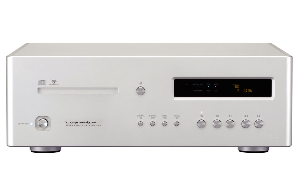 Luxman D-08 Stereo SACD / CD Music Player | On a Higher Note