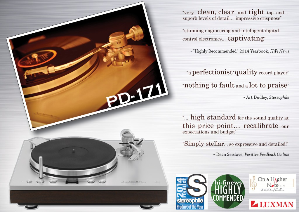 Luxman PD171 Reviews