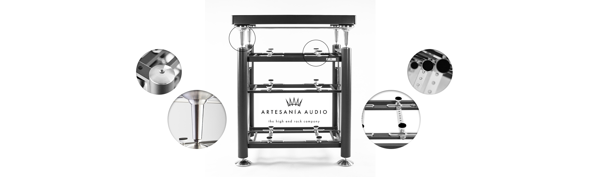 Artesania Exoteryc equipment rack