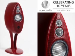Vivid B1 Decade Loudspeaker Debut