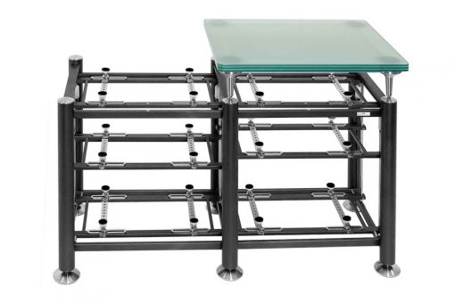 Artesania Exoteryc 3 Level Tandem Rack with Glass Platform