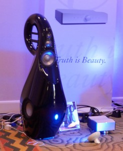 Vivid G3 loudspeaker with Mola-Mola Kaluga power amplifer rmaf 2015