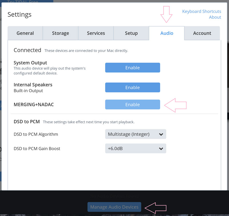 Merging PL8 Multichannel (8) NADAC+Player (requires the purchase of a Roon  subscription)