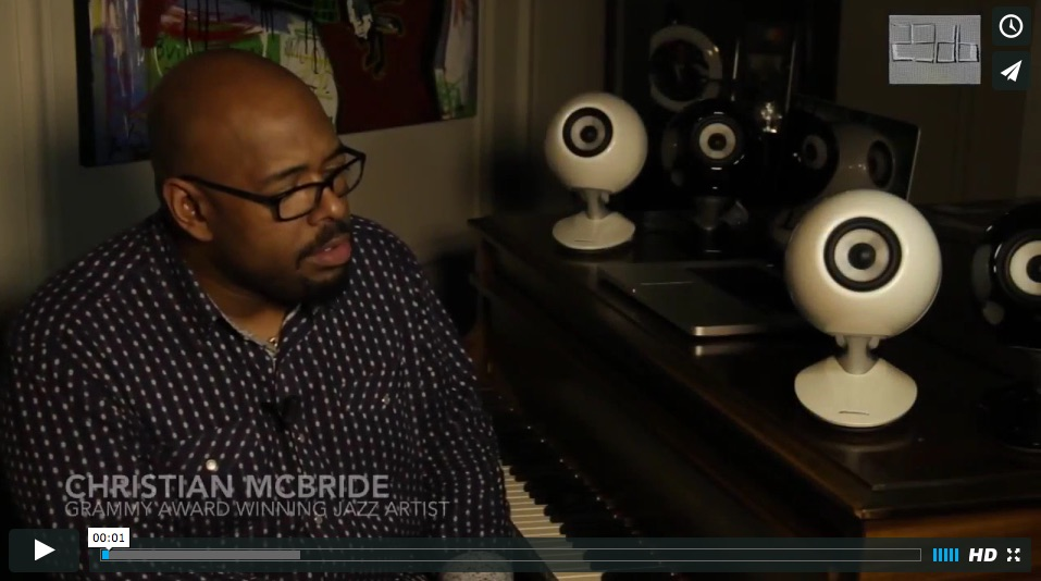 Virtuoso Christian McBride talks Eclipse speakers