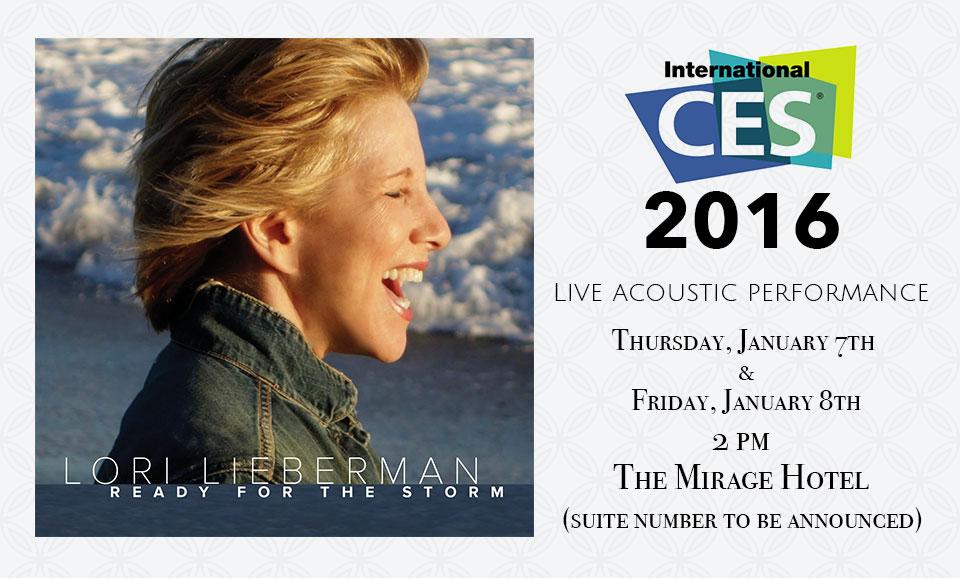 Lori Lieberman at CES 2016
