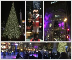 Christmas at San Francisco's Union Square