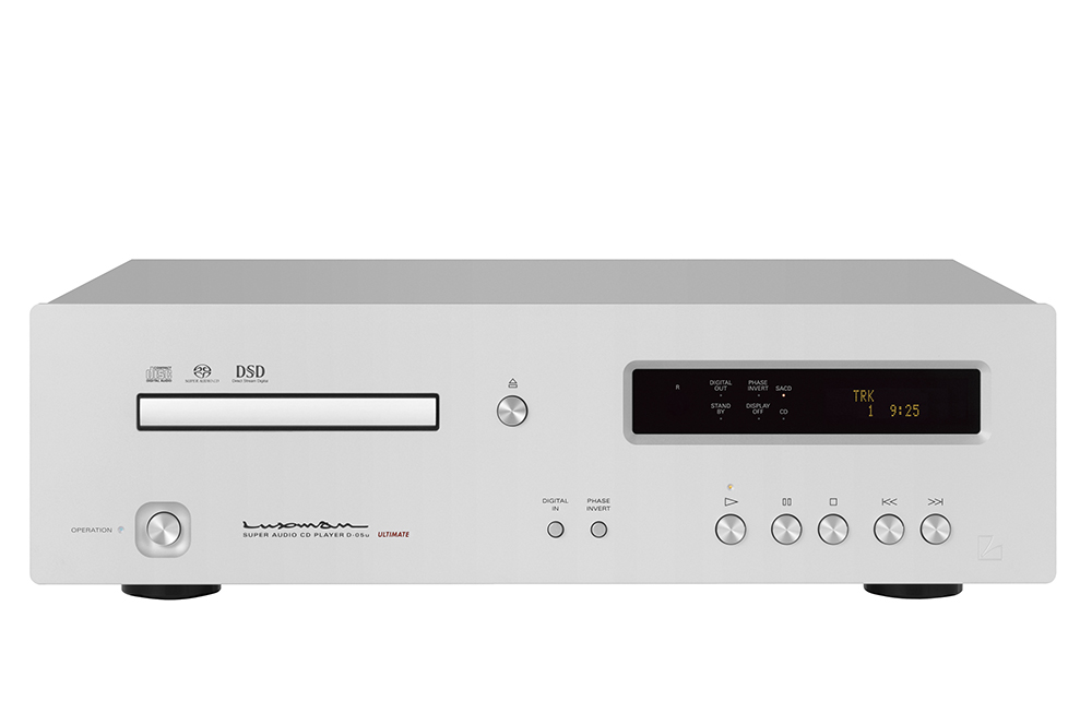 Luxman D 05u Stereo Sacd Cd Music Player On A Higher Note
