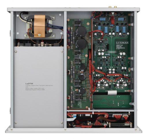 Luxman D-05u inside