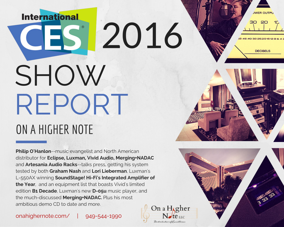 On a Higher Note's CES 2016 Show Report