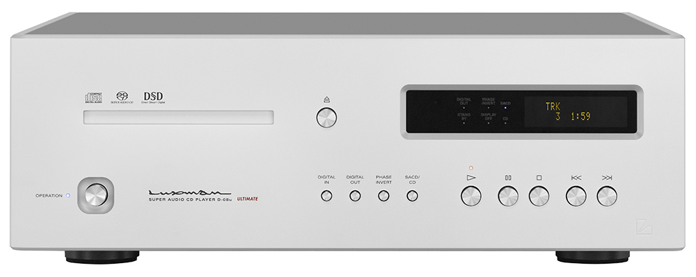 Luxman D-08u music player