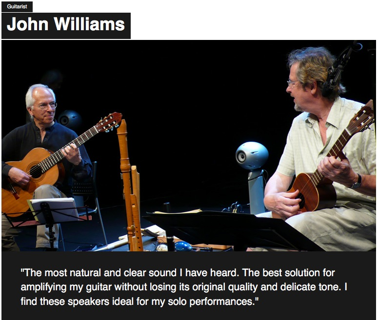 John Williams Eclipse TD-M1 testimonial