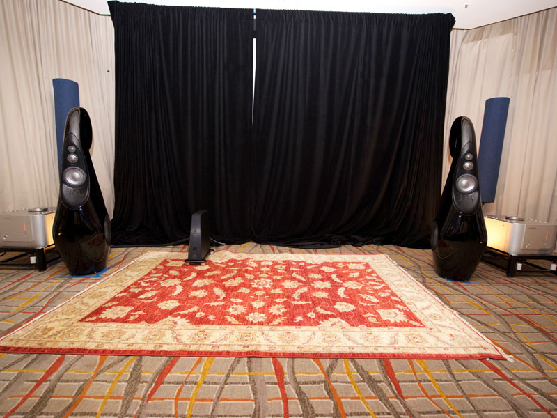 'Pelican Hill' room at T.H.E. Show 2016 photo credit: Dennis Davis, The Audio Beat