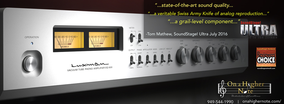 Luxman EQ-500 review by SoundStage! Ultra