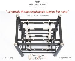 Artesania Prestige rack review by HiFi News Paul Miller