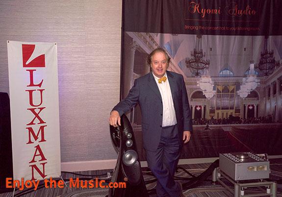 Philip O'Hanlon at RMAF 2016. photo credit enjoythemusic.com