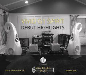 Vivid Audio G1 Spirit loudspeaker dubut