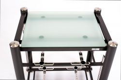 artesania treated glass shelf for exoteryc and prestige equipment racks