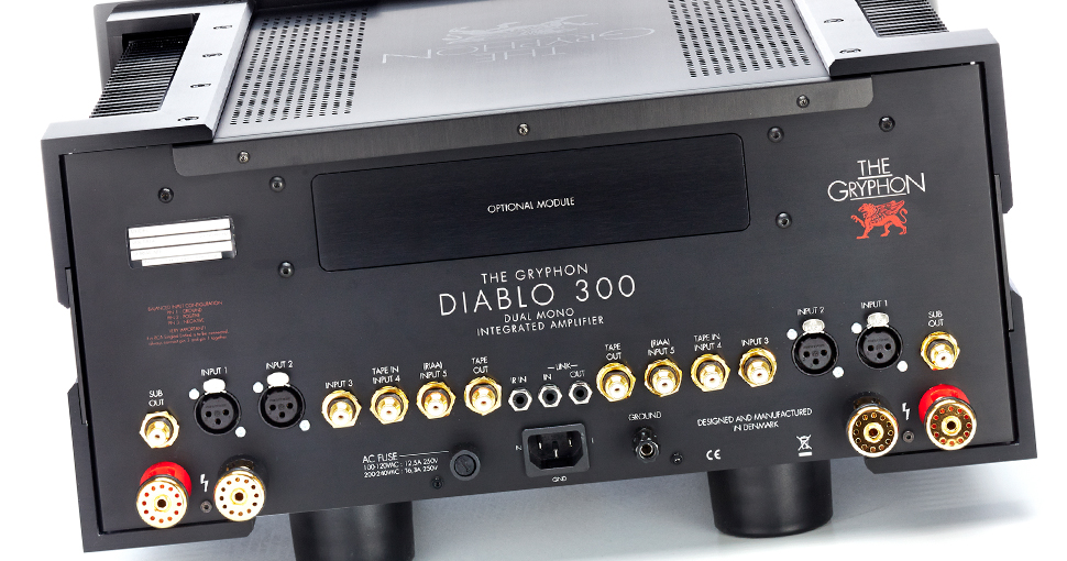 Gryphon Diablo 300 Integrated Amplifier On A Higher Note