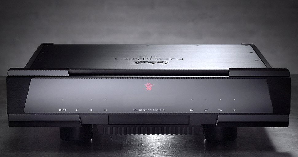 Gryphon Scorpio S Upsample Cd Player On A Higher Note