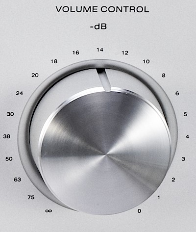L350AII volume control
