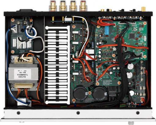 Luxman M-200 inside view