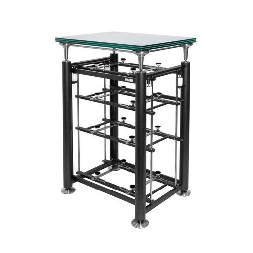 Exoteryc 4 Tier Rack with Glass Platform