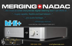 Merging NADAC review by Alan Sircom in Hi-Fi+