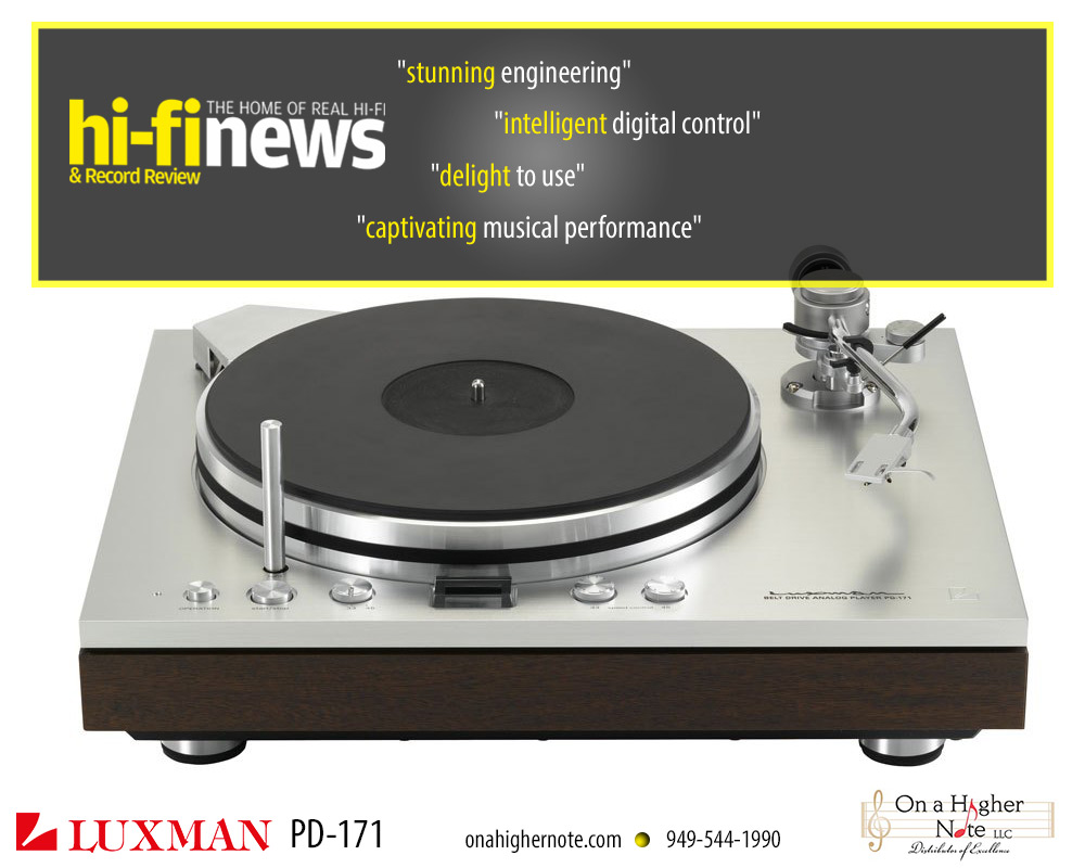 Luxman PD-171 turntable review by Hi-Fi News