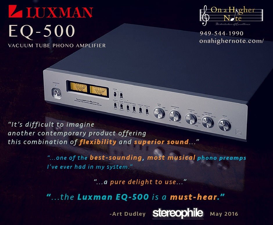 Luxman EQ-500 Stereophile Review