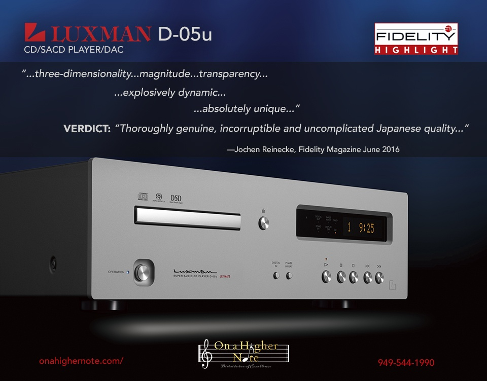Luxman D-05u review by Fidelity