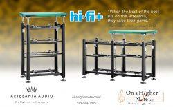 Hi-Fi+ review of Artesania Audio equipment racks