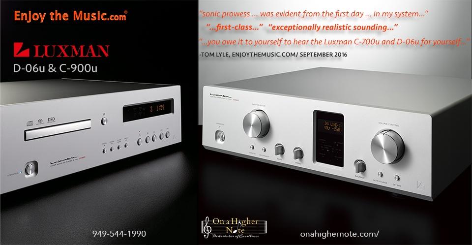 enjoythemusic.com review of luxman c-900u and d-06u