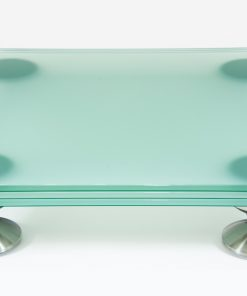 artesania treated glass electronic floor platform